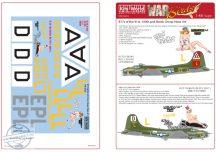 Boeing B-17F/G - 'Little Patches' B17 F 'Nine Little Yanks ' - 1/48