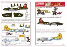 Boeing B-17F-20-DL Flying Fortress 42-3073 'Ligh... - 1/48