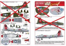 Boeing B-17G-95-DL Flying Fortress 44-83872 VP-X... - 1/48
