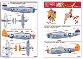Republic P-47D-28-RA Thunderbolt 42-28972 2Z-S '...  - 1/48