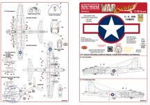 B-17F/B-17G Flying Fortress Red Outlined ... - 1/48