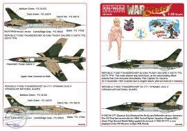 REPUBLIC F-105D-RE-31 THUNDERCHIEF 62-4364 'PUSS... - 1/48