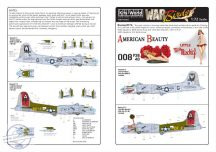 Boeing B-17G Flying Fortress (2) 298008 2S-G/W '… - 1/72