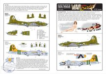 Boeing B-17F /B-17G Flying Fortress (2) 230857 TU... - 1/72
