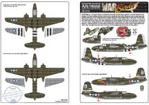 Douglas A-20 Havocs. A-20G, Havoc 43-9224 F6-E -... - 1/72