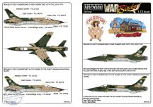 REPUBLIC F105D THUNDERCHIEF 61-0069  - 1/72