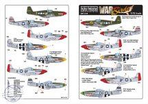 North-American P-51B Mustang 43-6913 VF-T - 'Sha... - 1/72