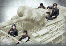 German Tank Crew, 1944-1945 - 1/35