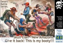 Skull Clan - New Amazons. Give it back! This is my booty! - 1/35