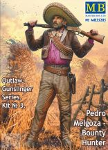 Outlaw Gunslinger 3 Pedro Melgoza, Bounty Hunter - 1/35