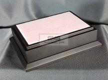 15cm x 10cm Makett alap Diorama  - fekete (Black)