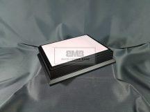 20cm x 15cm Makett alap Diorama - fekete (Black)