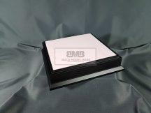 20cm x 20cm Makett alap Diorama - fekete (Black)