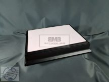 30cm x 20cm Makett alap Diorama - fekete (Black)