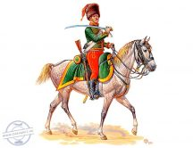 1/32 French Hussar (1 fig.&horse)
