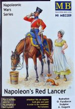 1/32 Napoleon's Red Lancer (2 fig.&horse)