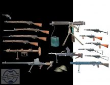 1/35 British Infantry Weapons (WWII era)