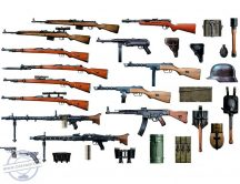 1/35 German Infantry Weapons (WWII era)