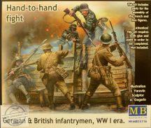 1/35 German & British Infantrymen WWI era