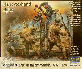 1/35 German & British Infantrymen WWI era