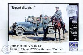 1/35 Urgent dispatch! (Sd.Kfz.2 170VK with crew)