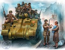 1/35 The 101st light company, France 1944 (9 fig.)