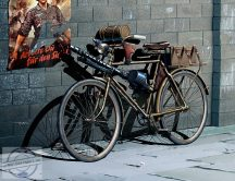 1/35 German Military Bicycle, WWII (incl. PE set)