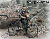 1/35 Volkssturm, Tank Hunter 1944-45 (1 fig.+bike)