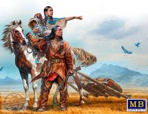 1/35 On the Great Plains,Indian Wars (2 fig+horse)