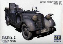 1/35 Sd.Kfz.2 Type 170 VK German WWII Radio Car