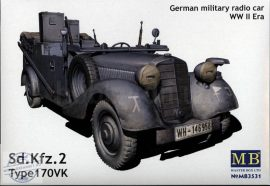 1/35 Sd.Kfz.2 Type 170 VK German WWII Radio Car