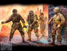 1/35 101st Airborne Divis., Europe 1944-45 (4 fig)