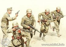 1/35 German infantry, DAK WWII era (5 fig.)