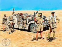 1/35 LRDG in North Africa WWII (5 fig.)