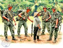 1/35 Patroling - Vietnam War Series (5 fig.)