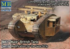 1/72 MK I MALE British Tank (Spec.Mod. Gaza Strip)