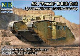 1/72 MK I FEMALE British Tank (Spec.M. Gaza Strip)