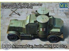 1/72 Austin MK IV British Armoured Car WWI