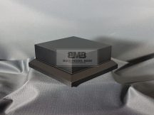 10cm x 10cm Makett alap Solid - fekete (Black)