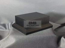 10cm x 7,5cm Makett alap Solid - fekete (Black)