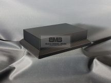 15cm x 10cm Makett alap Solid - fekete (Black)