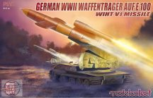 German WWII  E-100 Panzer Weapon Carrier with V1 Missile Launcher  - 1/72