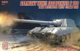 German WWII Jagdpanther E100 Tank Destroyer with 170mm Gun - 1/72