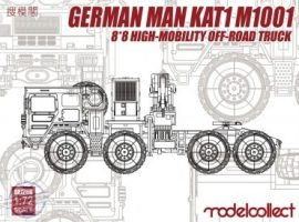 German Kat1 M1001 8*8 High-Mobility Off Road Truck