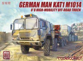 German Man Kat1 M1014 8*8 High-Mobility Off-Road Truck