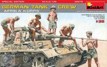 Miniart - German Tank Crew Afrika Korps Special Edition