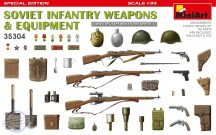 Soviet Infantry Weapons and Equipment Special Edition - 1/35