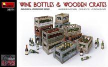 MiniArt - Wine Bottles & Wooden Crates