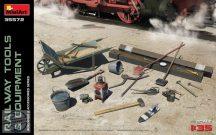 Miniart - Railway Tools & Equipment