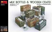 MiniArt - Milk Bottles & Wooden Crates